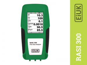 Rasi 300 Flue gas analysers for domestic installations