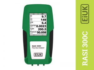 RASI 300C Flue Gas Analysers for Commercial Installations